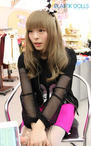 This is what it looks like being face-to-face interviewing Kyary