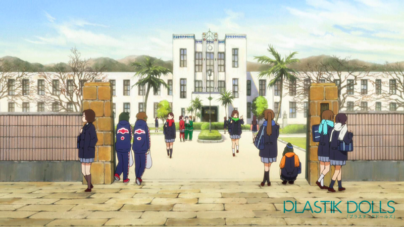 The resemblance between the real life and anime version of the schools is undeniable.
