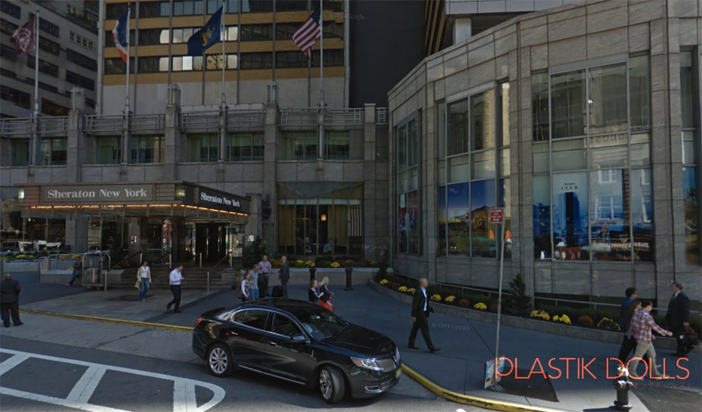 The exterior of the Sheraton New York Times Square Hotel