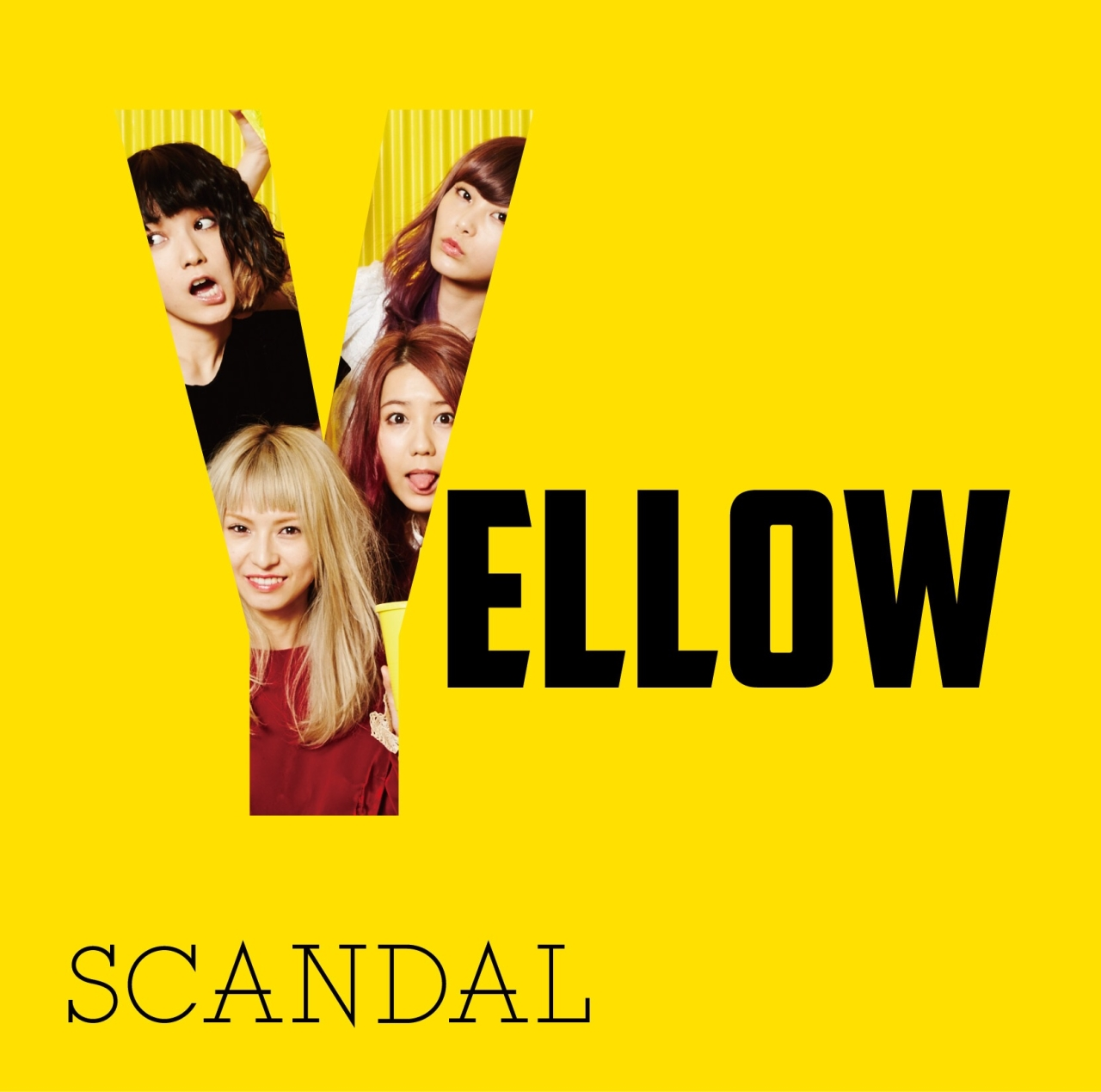 SCANDAL-Yellow-DVD